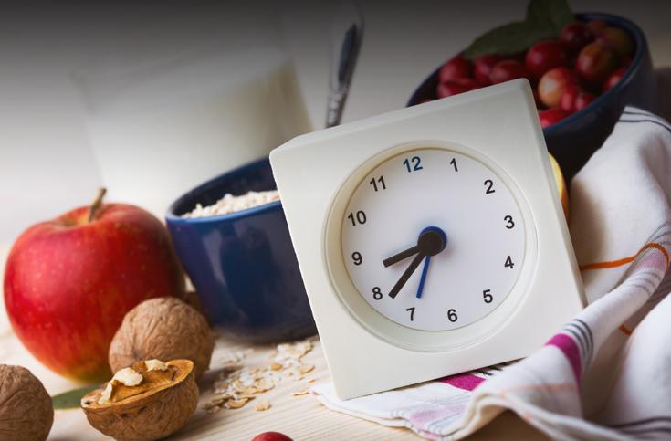 시간대별 필요한 영양소가 다르다?