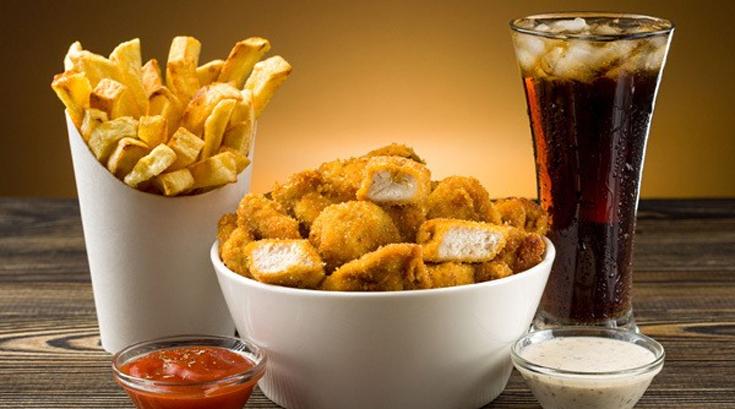 고단백질 음식에 단 음료 마시면 살 더 찐다