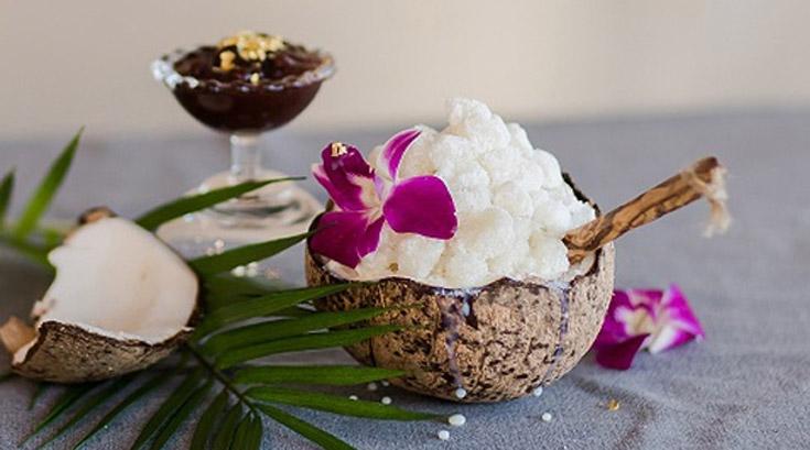 '코코넛 빙수', 홈메이드로 즐기기