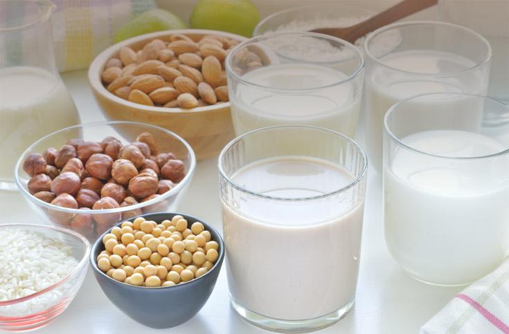 우유 vs 식물성 우유들…뭐가 더 좋을까