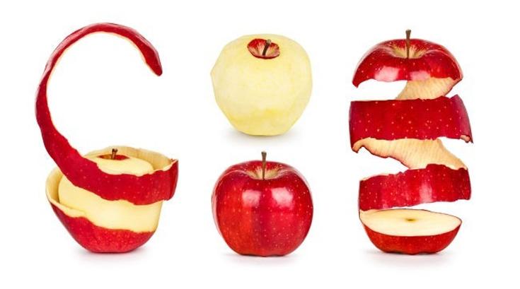 사과 껍질의 놀라운 비밀