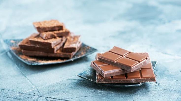 초콜릿과 곶감 표면이 하얀 이유