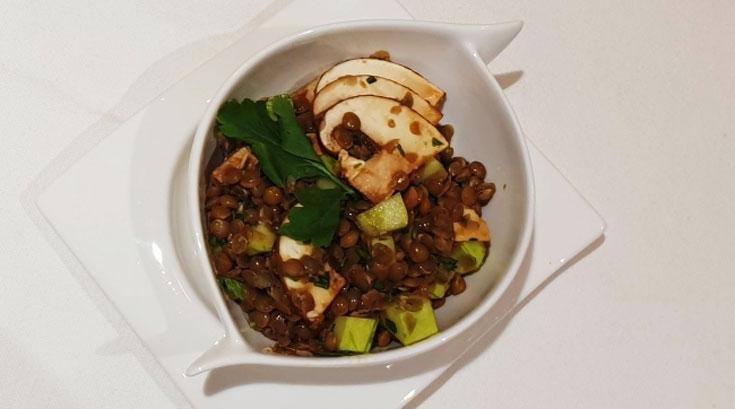 집에서 만드는 '저탄소 치유 식단'…버섯렌틸샐러드ㆍ스크램블두부비빔밥