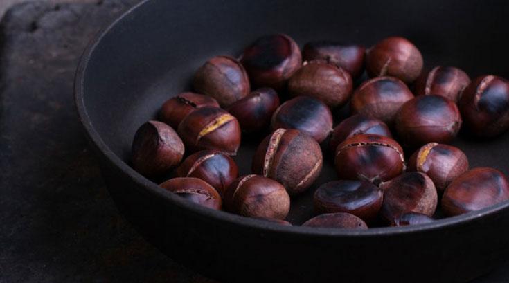 연말에 즐기는 건강한 제철음식 '밤·동치미·석류'