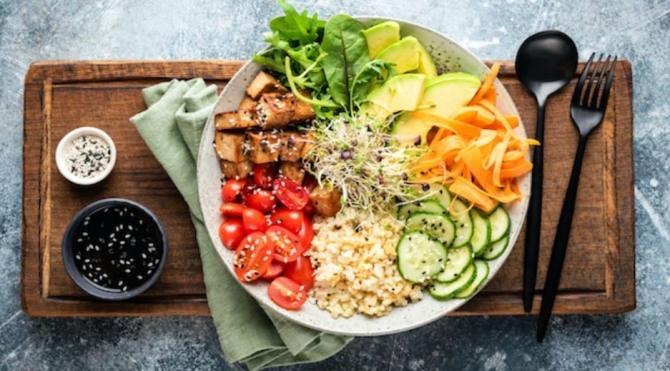 '코리아식 샐러드' 홍콩, 코로나후 채식 인기