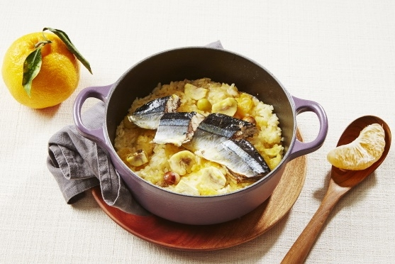 한라봉과 꽁치가 만난 영양밥