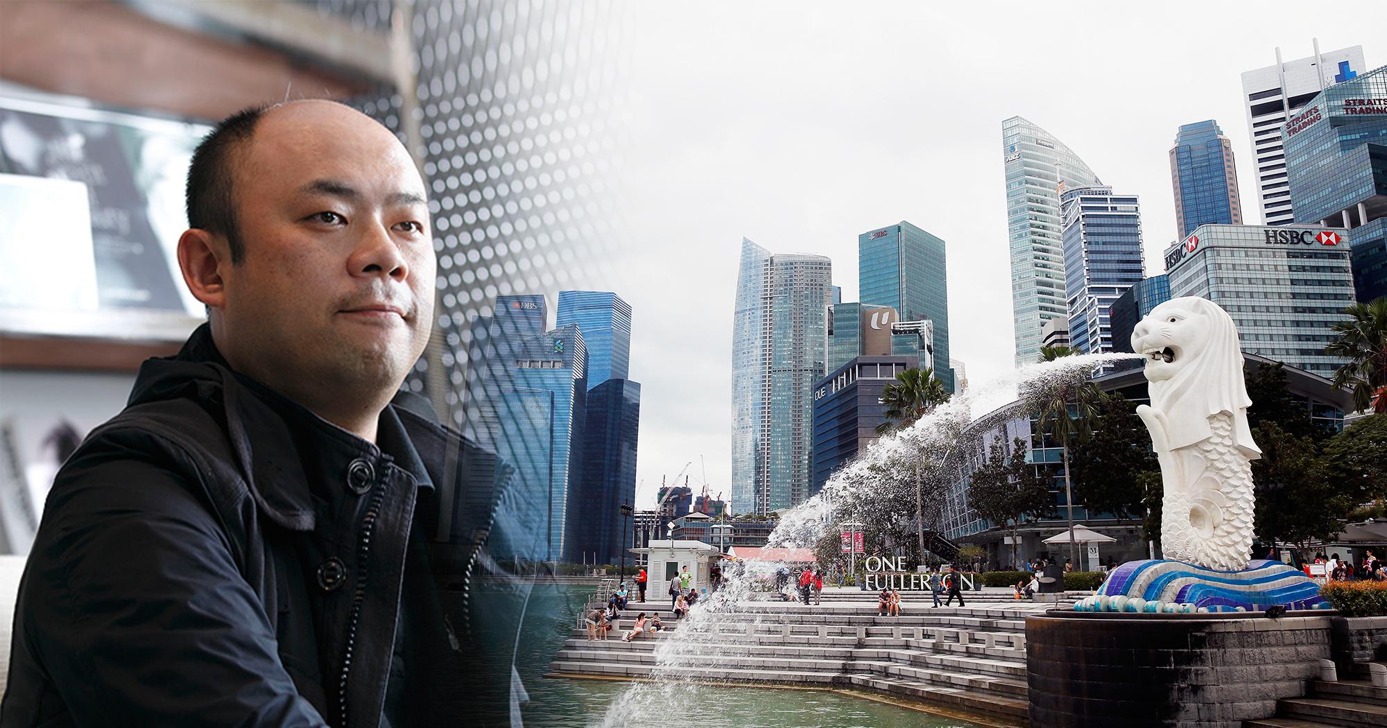 싱가포르로 이주한 日억만장자 손태장