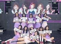 """아이오아이 마지막 단체 인증샷…팬들 """"기다.."""
