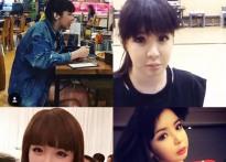 박봄, 불과 8개월 만에 얼굴 변화만 4번