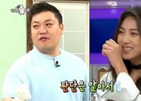 """'라디오스타' 김구라, 정다래에 """"권도우랑.."""