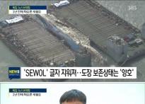 """SBS 세월호 인양 중계…""""왜 수면 위 13m 인양.."""