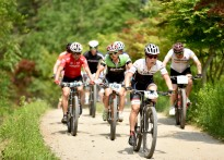 청송군수배 전국산악자전거 대회...