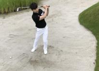 [와키 골프레슨-김현우 프로 20] 벙커샷 거리..