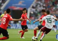 [러시아 WC 리뷰] 멕시코 전 '1-2 패배' 대한..