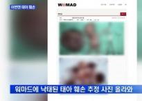 워마드, 태아 사체 게시? 성체→흉기→납치 위..