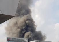 마곡 화재, 화마로 뒤덮인 공사장…긴박했던 ..