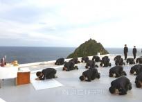 독도경비대원들의 한가위... 연휴...