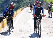 울릉해안도로 아름다운 자전거길...