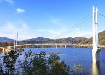 김천관광명소 부항댐 출렁다리 주...