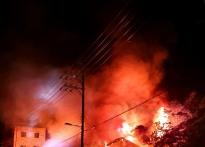 [1보]경북 울릉도 식당서 화재발...