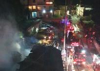 [종합]울릉도 식당서 화재발생.....