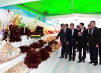 예천장터 농산물대축제 개막.......