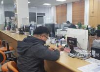 울릉군청, 민원실 창구 가림막 설...