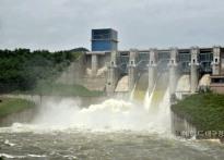[헤럴드 포토]영주댐 첫 수문개방...