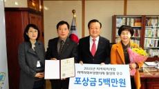 경북 김천시, 복지행정상 수상