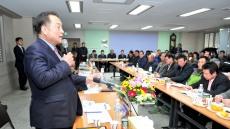 김영만 군위군수, 읍면순방 군민소통 나서