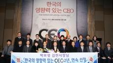 박보생 김천시장 '2016 한국의 영향력 있는 CEO' 선정