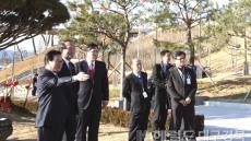 박승춘 국가보훈처장, 칠곡호국평화기념관 방문