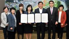 중구, 울산여성가족개발원, 여성친화도시 업무 협약