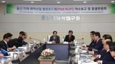 울산시, '울산 미래 화학산업 발전 로드맵(Post-RUPI) 착수 보고 및 총괄위원회' 개최