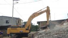 현대重, 지진 피해 에콰도르에 굴삭기 긴급 지원