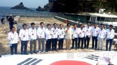 [포토뉴스]독도노래 열창하는 경북 시장 군수