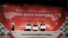 양산시, '2016 경남 투자유치설명회' 참가 투자유치 홍보활동