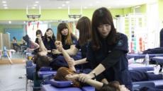 호산대, 국군병원 입원 장병 의료봉사