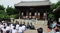 수봉선생의 숭고한 정신 기리기 위한 향사 거행