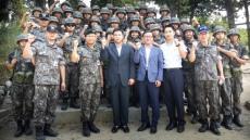 경북전문대 최재혁 총장, '육군부사관학교 하계입영훈련 RNTC후보생 격려방문