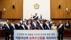 경주시의회, '청탁금지법 개정촉구결의안' 채택