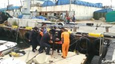 동해해경, 삼척항 북방파제에서 40대 추락자 구조