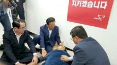 """김관용 경북도지사 """"이정현 대표 단식 푸시라"""""""