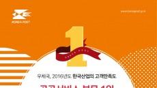 우체국, 고객만족도 서비스부문 18년 연속 1위