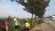 [포토뉴스]경주시, '강변로에 아름다운 화단' 조성