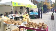 봉화군, 자매도시 부천시청 농특산물 직거래장터 참여