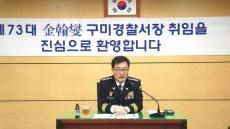 구미,김천,문경,성주경찰서 신임서장 취임