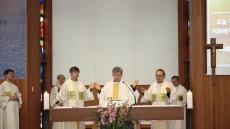 대구가톨릭대, 시무미사 봉헌