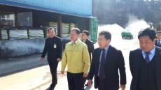 경북농협 여영현 본부장,구제역 차단방역 긴급현장 점검
