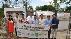현대차, 필리핀 산간마을 식수 해결...빗물센터 개소